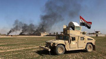 Mosul Irak armeija joukot