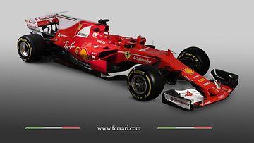 Ferrari SF 70H 2017