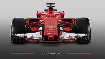 Ferrari SF 70H 2017 edestä