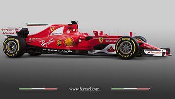 Ferrari SF 70H 2017 sivulta