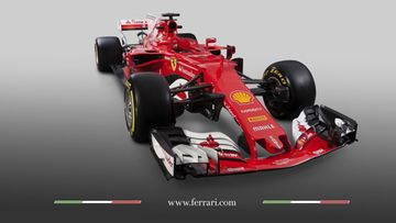 Ferrari SF 70H 2017 etuviistosta