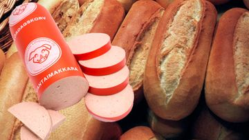 Lauantaimakkara ranskanleipä