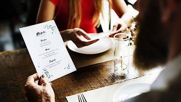 ravintola ruokalista menu
