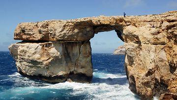 Maltan Sininen ikkuna - Azure Window