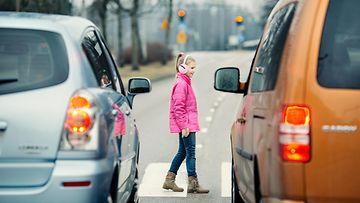 lapsi liikenteessä