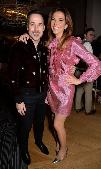 David Furnish ja Heather Kerzner 14.3.2017