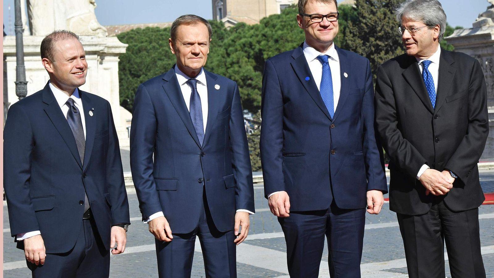 EU:n riisuttu julistus saatiin allekirjoitettua uhkauksista huolimatta - Ulkomaat - Uutiset - MTV.fi