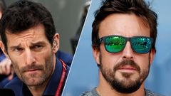Mark Webber ja Fernando Alonso 2017