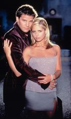 David Boreanaz ja Sarah Michelle Gellar 1997 Buffy