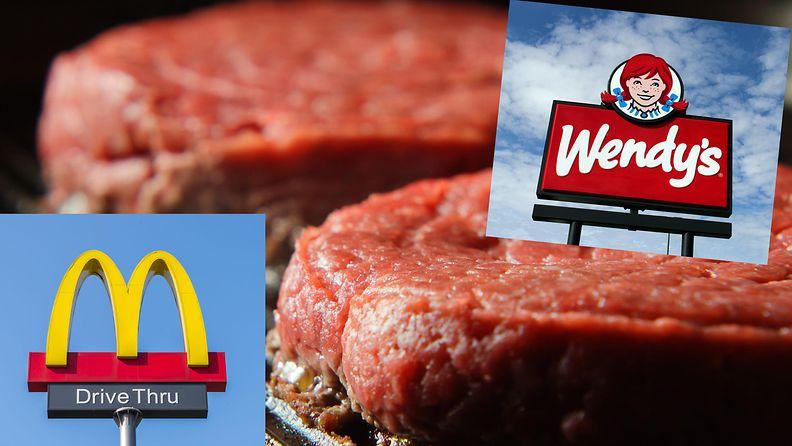 McDonald's Wendy's