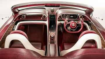 bentley EXP 12 Speed 6e - Interior High Cabin View