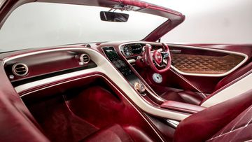 bentley EXP 12 Speed 6e - Interior Cross-Cabin