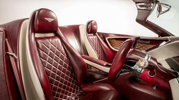 bentley EXP 12 Speed 6e - Interior Seats