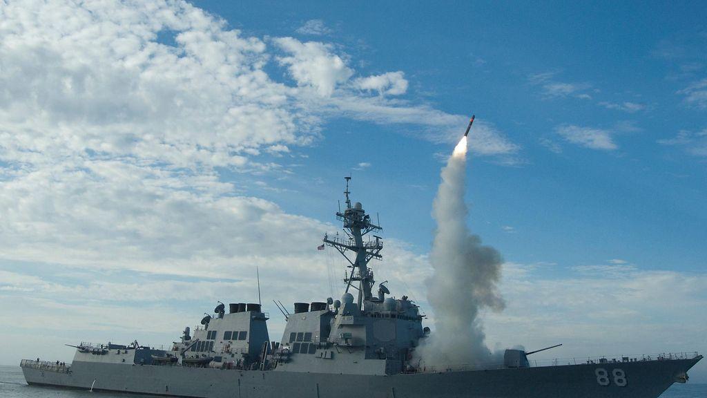 Tällaiselta alukselta Syyriaa pommitettiin – 50 Tomahawk-ohjusta ilmaan - Ulkomaat - Uutiset ...