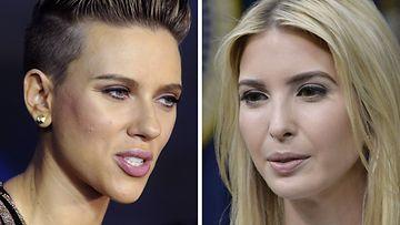 Scarlett Johansson Ivanka Trump 2017