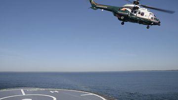 Meri rajavalvonta helikopteri