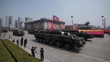 Pohjois-Korea ohjus