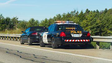 poliisi pysäytys