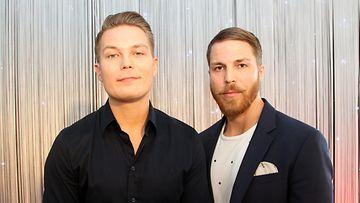 Jare ja Jere Tiihonen Cheek-elokuvan pressitilaisuus 18.4.2017 1