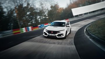honda civic type-r nurburgring