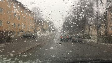 räntää sataa liikenne