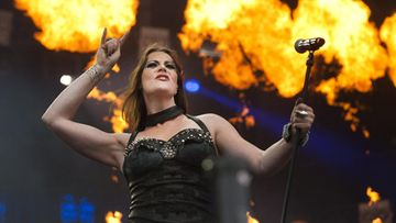 Floor Jansen Nightwish 30.6.2013