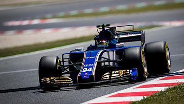 Pascal Wehrlein Sauber 2017 Espanja