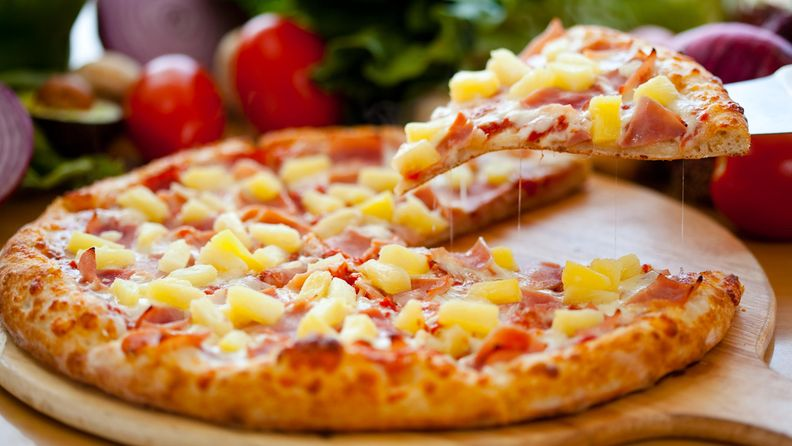 ananaspizza pizza ananas kinkku