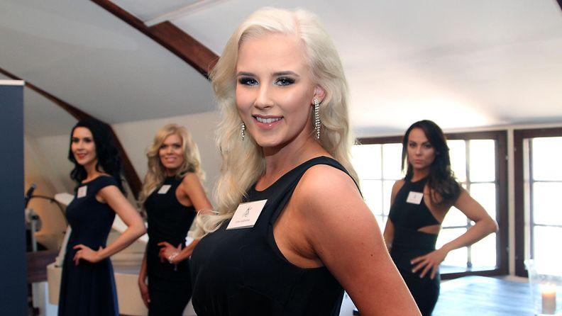 Miss Suomi 2017 -semifinalisti Erika Mäenpää, 19, Kangasala