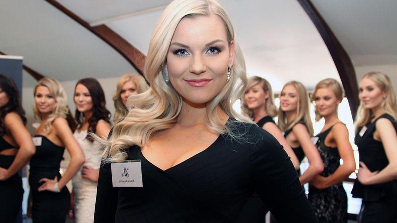 Miss Suomi 2017 -semifinalisti Annimaria Ärjä, 22, Kajaani (nyk. Helsinki)