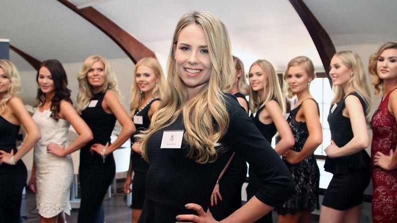 Miss Suomi 2017 -semifinalisti Emilia Arvela, 23, Turku (nyk. Vaasa)