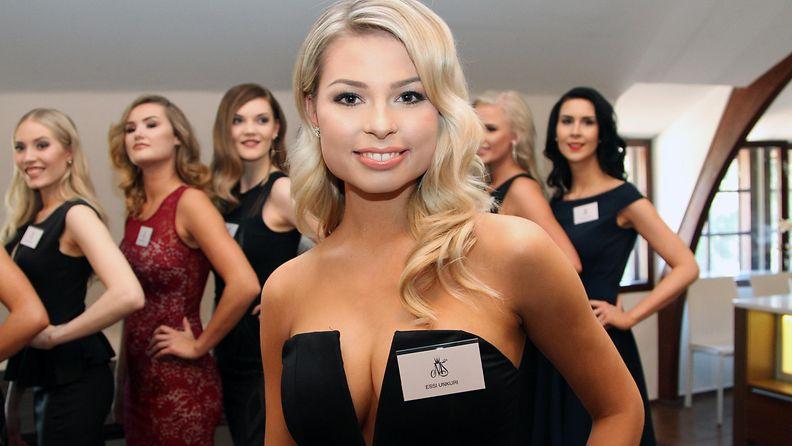 Miss Suomi 2017 -semifinalisti Essi Unkuri, 19, Vaasa
