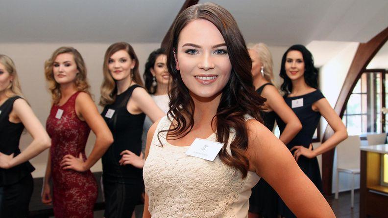 Miss Suomi 2017 -semifinalisti Elina Ketonen, 22, Tuusula (nyk. Espoo)