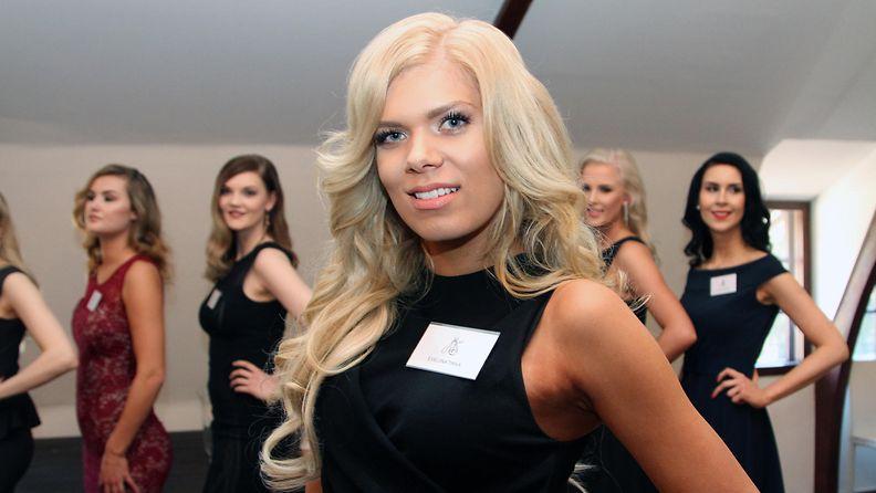 Miss Suomi 2017 -semifinalisti Eveliina Tikka, 22, Kokkola (nyk. Vaasa)