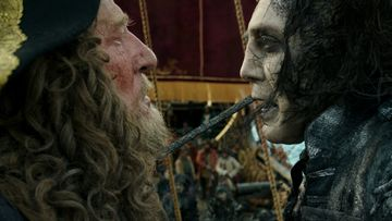 Pirates of the Caribbean 5 Geoffrey Rush, Javier Bardem 2017 2