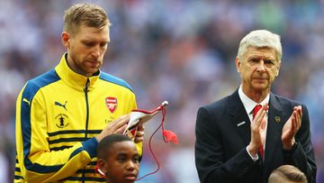 Mertesacker Wenger