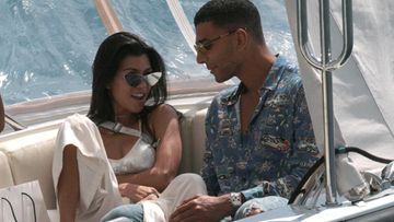 Kourtney Kardashian ja Younes Bendjima Cannesissa