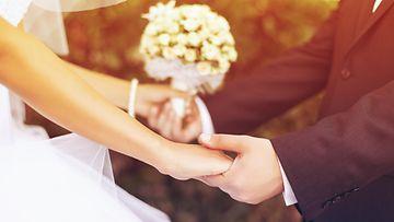 häät, hääkuva, aviopari