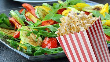 popcornsalaatti