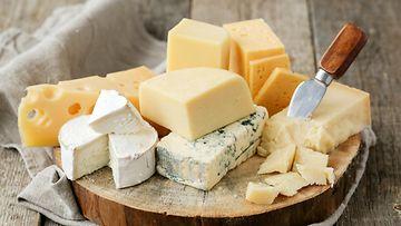 juusto juustoja juustotarjotin