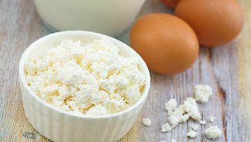 kananmuna raejuusto proteiini