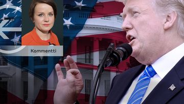 Mari Karppinen kommentti Trump