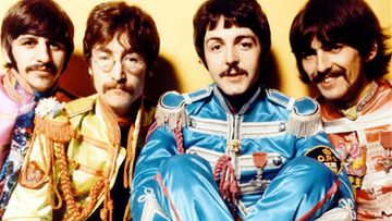 The Beatles 1967 Ringo Starr, John Lennon, Paul McCartney ja George Harrison