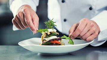 kokki ravintola ruoka-annos