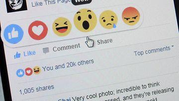 facebook tykkää nappi