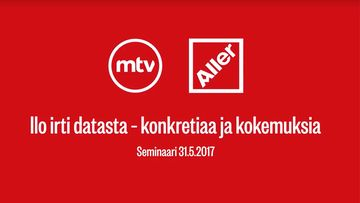 MTV:n ja Aller Median dataseminaari