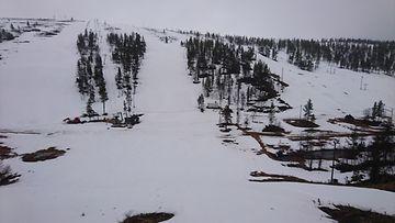 Ski Saariselkä Iisakkipään rinne laskettelu