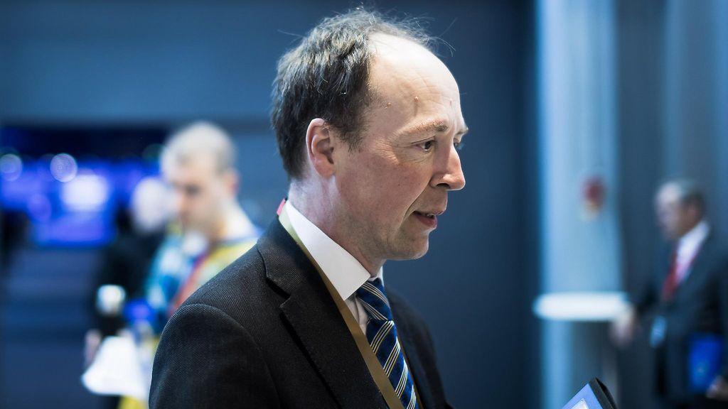 Perussuomalaisten uusi puheenjohtaja Halla-aho: Olen sanaton - Kotimaa - Uutiset - MTV.fi