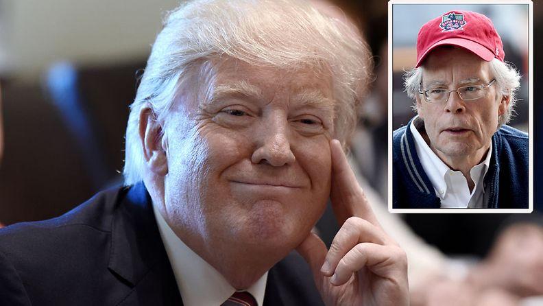 Trump ja Stephen King
