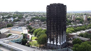 Lontoon tulipalo Grenfell tower